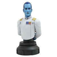 Star Wars Animated: Rebels - Grand Thrawn 1:7 Scale Bust
