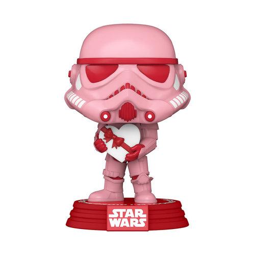 FUNKO Pop! Star Wars: Valentines - Stormtrooper with Heart