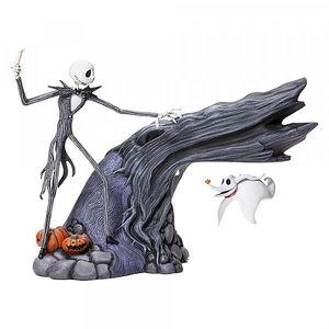 enesco Jack & Zero Levitating Masterpiece Figurine
