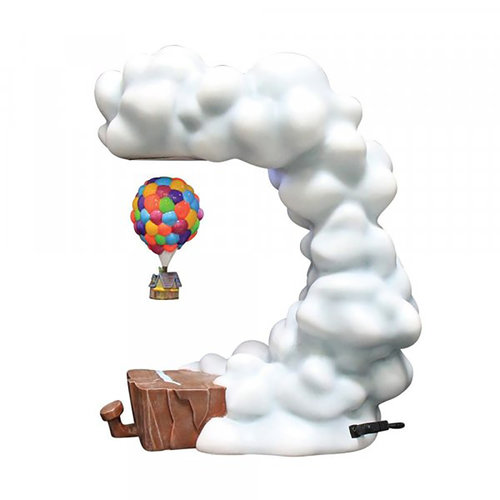 enesco Pixar UP Levitating House Masterpiece Figurine EU