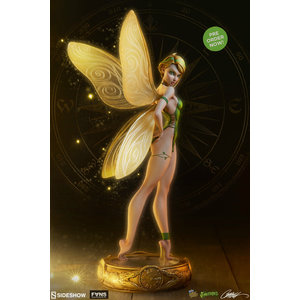 Sideshow Disney: Fairytale Fantasies - Peter Pan - Tinkerbell 12 inch Statue