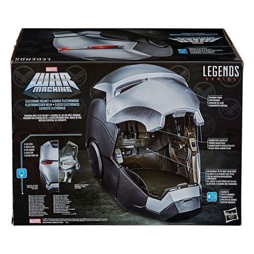 HASBRO Marvel Legends Series: War Machine Electronic Helmet