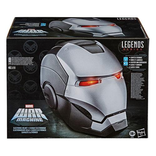 HASBRO Marvel Legends Series: War Machine Electronic Helmet
