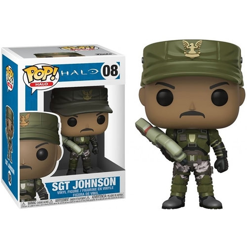 FUNKO Pop! Games: Halo Sergeant Johnson
