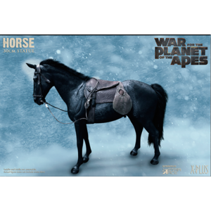 Star Ace Planet of the Apes: Black Horse PVC Statue