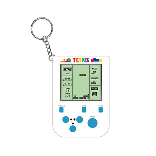 Fizz Creations Tetris: Arcade Game Keychain