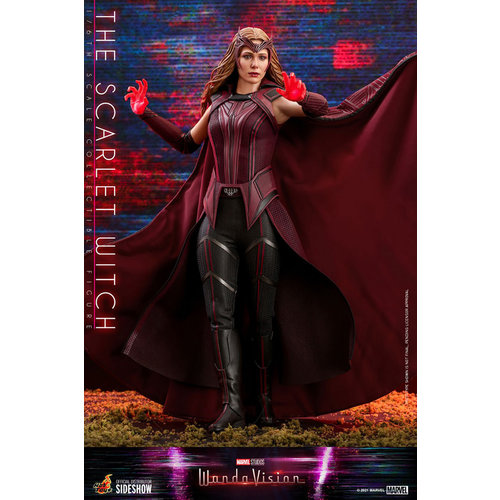 Hot toys Marvel: WandaVision - The Scarlet Witch 1:6 Scale Figure