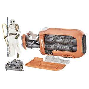 HASBRO Star Wars: Black Series - Rey's Speeder