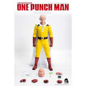 Three A Toys One Punch Man Saitama 1/6 Scale Figure