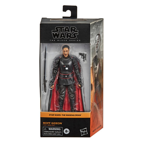 HASBRO Star Wars: Black Series 2021: The Mandalorian Moff Gideon