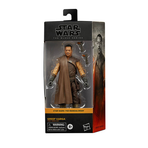 HASBRO Star Wars: Black Series 2021: The Mandalorian Greef Karga