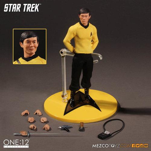 Mezcotoys Star Trek Sulu 1:12 Collective Action Figure