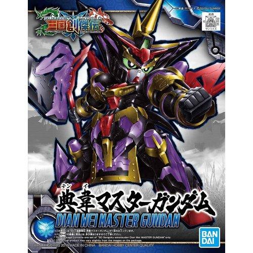 Bandai Gundam: SD Sangoku Soketsuden Dian Wei Master Gundam Model Kit