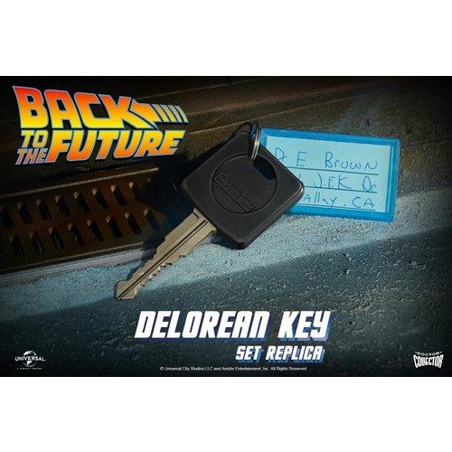 doctor collector Back to the Future: DeLorean Key Set Replica