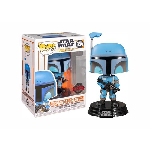 FUNKO Star Wars: The Mandalorian - Two Stripes Death Watch LE