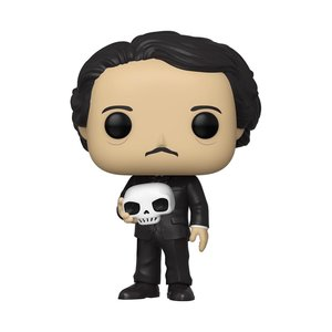 FUNKO Pop! Icons: Edgar Allan Poe with Skull