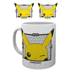 Hole In The Wall Pokemon: 25th Anniversary - Pikachu Wink Mug
