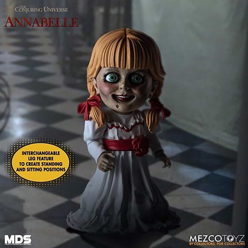 Mezcotoys Annabelle Comes Home: Designer Series - Annabelle 6 inch Action Figure
