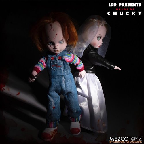 Mezcotoys Living Dead Dolls: Chucky and Tiffany 10 inch Action Figure Box Set