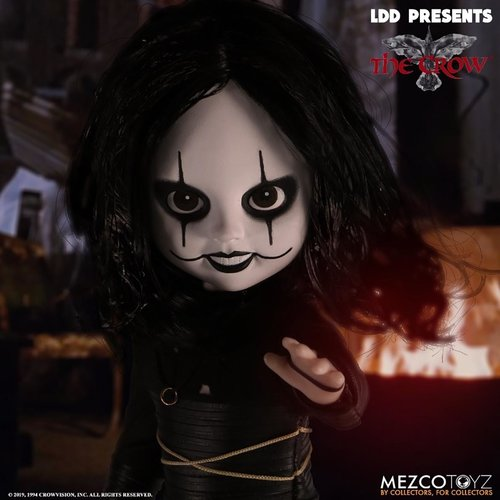 Mezcotoys Living Dead Dolls: The Crow 10 inch Action Figure