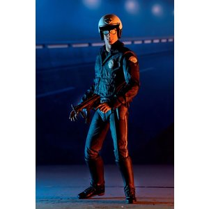 NECA Terminator 2: Ultimate T-1000 Motorcycle Cop 7 inch Action Figure