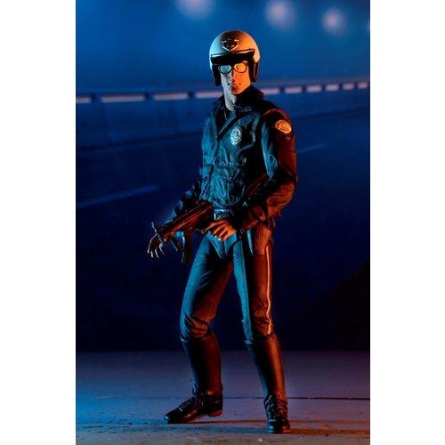 NECA Terminator 2: Ultimate T-1000 Motorcycle Cop 7 inch Action Figure