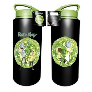 Hole In The Wall Rick and Morty Portal - Drink Bottle