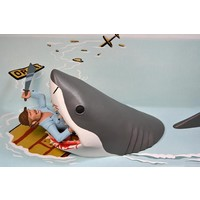 Jaws: Toony Terrors - Jaws and Quint 6 inch Action Figure 2-Pack