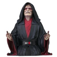 Star Wars: The Rise of Skywalker - Emperor Palpatine 1:6 Scale Bust