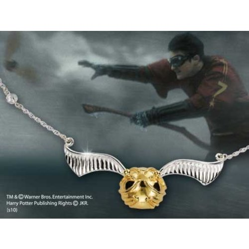 The Noble Collection Harry Potter Necklace The Quidditch Golden Snitch