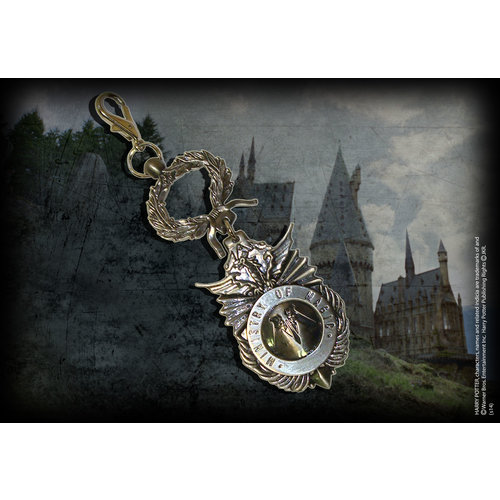 The Noble Collection Harry Potter Metal Keychain Ministry of Magic 5 cm