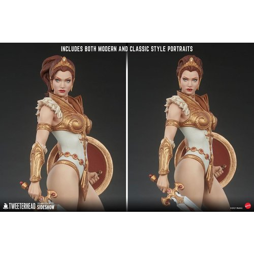 Sideshow Toys Masters of the Universe: Teela Legends 1:5 Scale Maquette