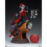 DC Comics Harley Quinn and The Joker Diorama