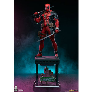 Sideshow Toys Marvel: Contest of Champions - Deadpool 1:3 Scale Statue