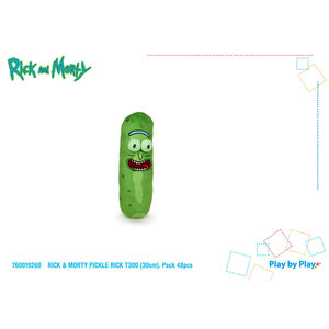 Play By Play Rick and Morty: Pickle Rick 30 cm Plush