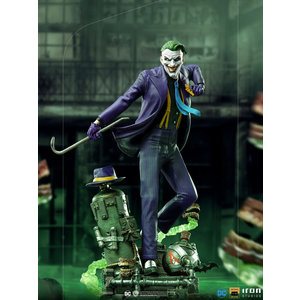 Iron Studios DC Comics: The Joker Deluxe Version 1:10 Scale Statue