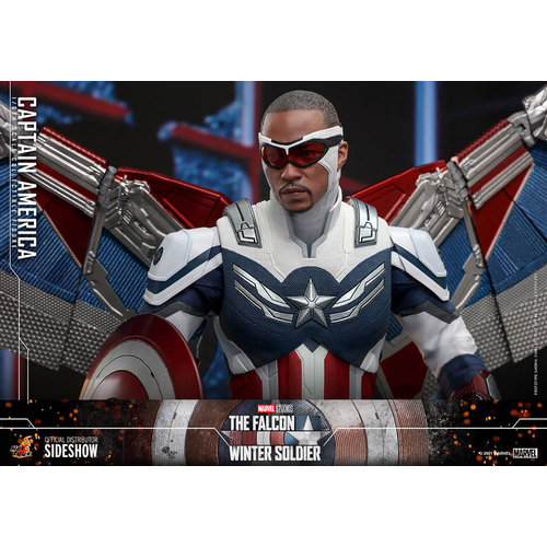 Hot toys Marvel: The Falcon and the Winter Soldier - Captain America 1:6 Scale Figure