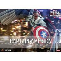 Marvel: The Falcon and the Winter Soldier - Captain America 1:6 Scale Figure