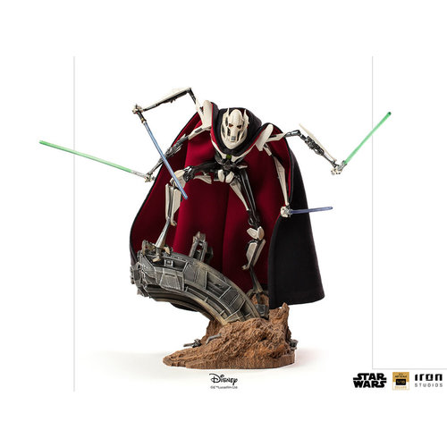 Iron Studios Star Wars: Revenge of the Sith - General Grievous 1:10 Scale Statue