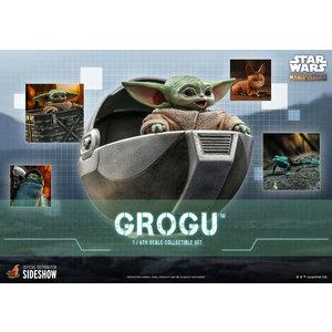Hot toys Star Wars: The Mandalorian - Grogu 1:6 Scale Figure Set