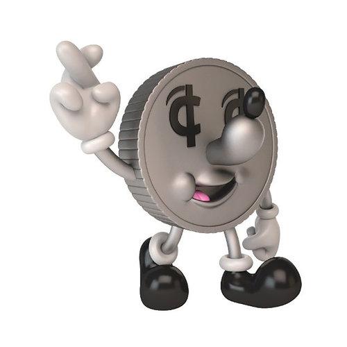 Kidrobot Lucky Coin Money Box Medium Figure