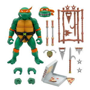 super7 TMNT: Ultimates Wave 3 - Michelangelo 7 inch Action Figure