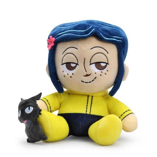 Kidrobot Coraline: Coraline and the Cat Phunny Plush