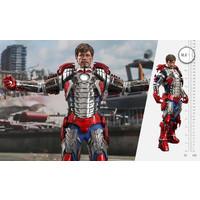 Marvel: Iron Man 2 - Tony Stark Mark V Up Version 1:6 Scale Figure