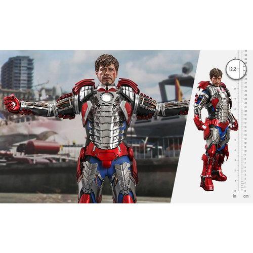 Hot toys Marvel: Iron Man 2 - Tony Stark Mark V Up Version 1:6 Scale Figure