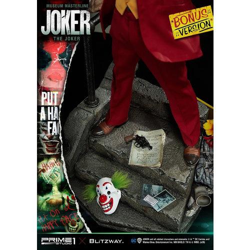 Prime 1 Studio DC Comics: Joker Movie - The Joker Bonus Version 1:3 Scale Statue