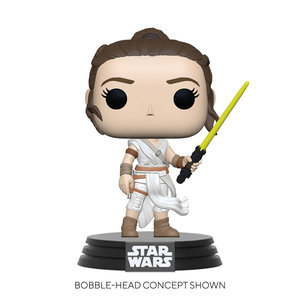 FUNKO Pop! Star Wars: The Rise of Skywalker - Rey with Yellow Saber