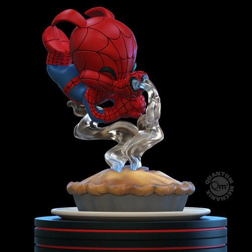 Quantum Mechanix Marvel: Spider-Verse - Spider-Ham Q-Fig Diorama