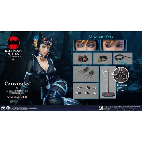 Star Ace DC Comics: Batman Ninja - Ninja Catwoman Normale Edition 1:6 Scale Action Figure