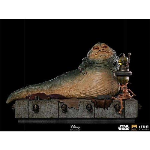 Iron Studios Star Wars: Return of the Jedi - Deluxe Jabba the Hutt 1:10 Scale Statue